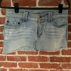 OLD Vintage Abercrombie & Fitch jean skirt 2